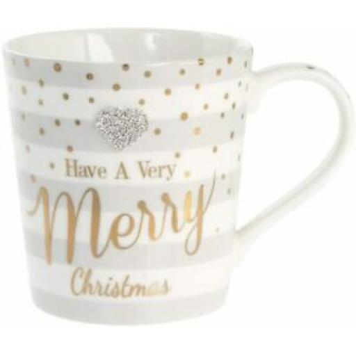 Lesser And Pavey Mug Beaker Coffee Tea Have A Very Merry Christmas LP68024