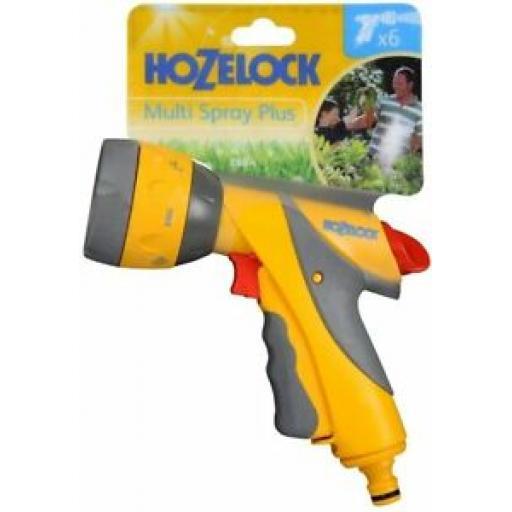 Hozelock Water Multi Spray Jet Sprayer Plus Gun For Garden Hose Pipes 2684