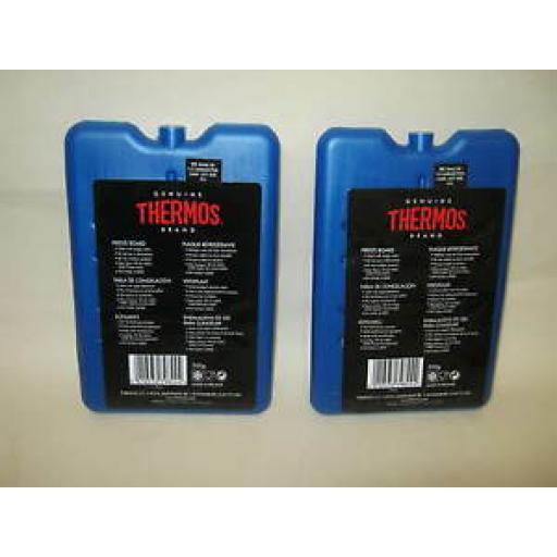 Thermos Ice Packs Freezer Blocks Boards 2 X 200G