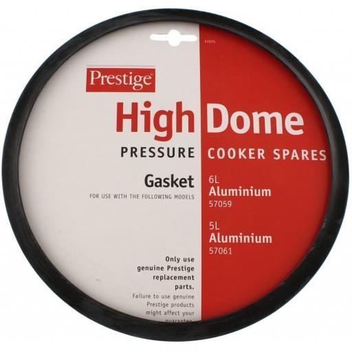 New Prestige Pressure Cooker Gasket High Dome Aluminium 57075