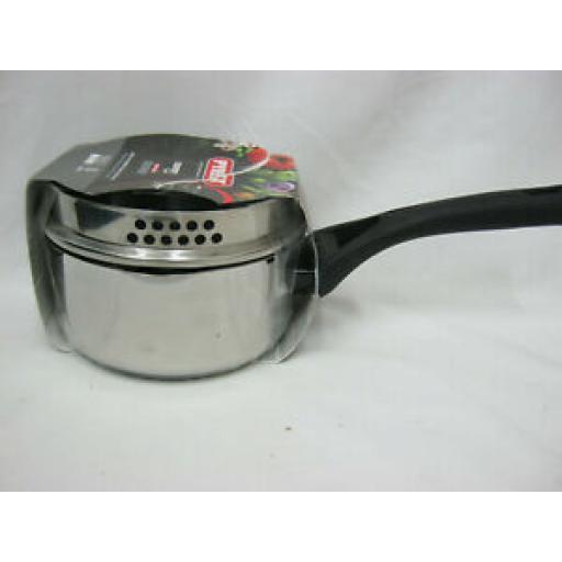 Pyrex Expert Touch Stainless Steel Saucepan Pan 16cm ET16APX/6144
