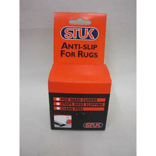 Stuk Anti Slip Rug Tape For Hard Floors 50mm 5 metres