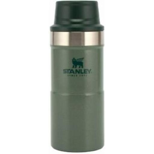 Stanley Vacuum Bottle Stainless Steel Travel Mug Jar 0.35L Green