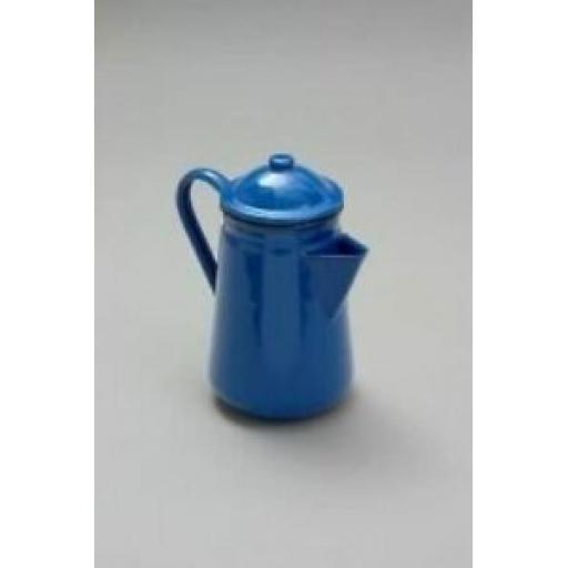 Falcon Blue Enamel 13cm 1.25ltr Coffee Pot Camping 62013BL