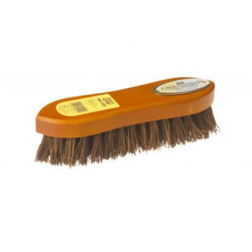 Groundsman Traditional Wood Scrubbing Brush Bassine Bristles 21.5cm