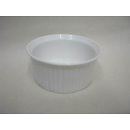 Wm Bartleet White Porcelain Ramekin Dish 8cm x 3.5cm T133