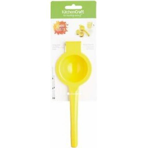 Kitchencraft Healthy Eating Citrus Lemon Juicer Squeezer Juice Extractor Press