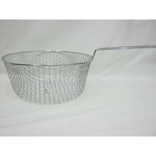 """Replacement Metal Wire Chip Frying Basket Large 23cm 9"""" 010843"""