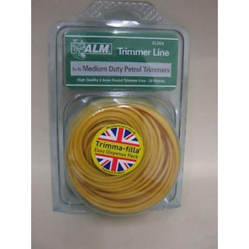 ALM Medium Duty Petrol Strimmer Trimmer Cutting Line Cord SL004
