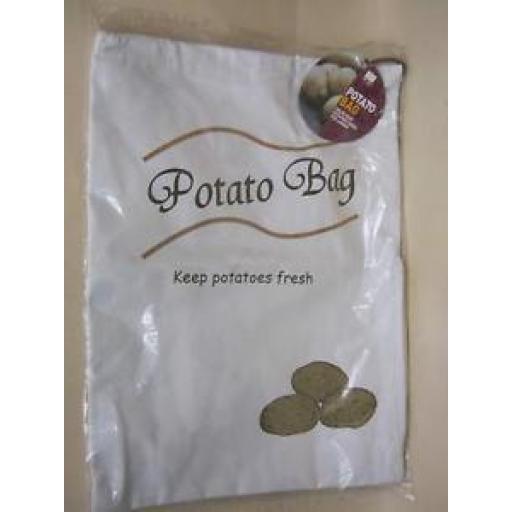 Cks Potato Storage Bag Keeps Potatoes Fresh Store Draw String Top Q135