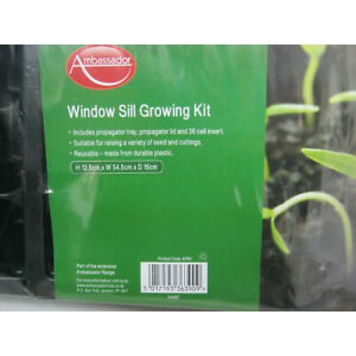 Ambassador Window Sill Growing Kit 36 Cell Insert AP80