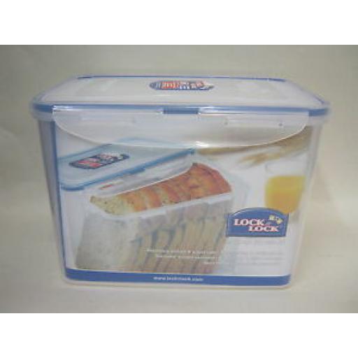 Lock and & Lock Rectangular 3.9L Bread Food Container HPL829