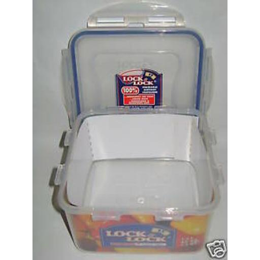 Lock and & Lock Square 1.2ltr Food Container HPL822D