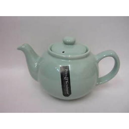 Price And Kensington Small Pot Teapot 2 Cup Mint Green 0056.767