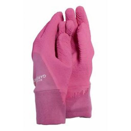 Town And Country Kids Master Gardener Gardening Gloves Glove Age 3/7 Pink TGL305