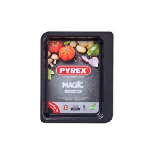 Pyrex Magic Roasting Roast Baking Dish Oblong Non Stick 26cm x 19cm MG26RR6/7046