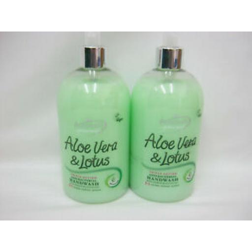 Astonish Aloe Vera And Lotus Antibacterial Handwash Liquid Soap Pk2