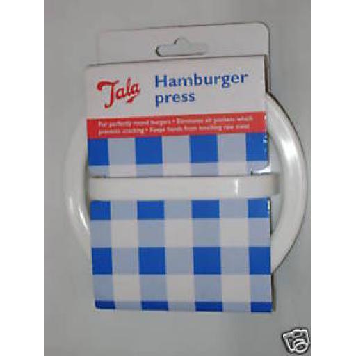 Tala Plastic Beefburger Hamburger Burger Press Mould 3054