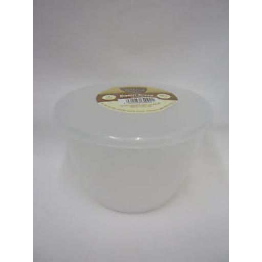 Just Pudding Basins Plastic Pudding Bowl Basin And Lid 1 Pint 570ML