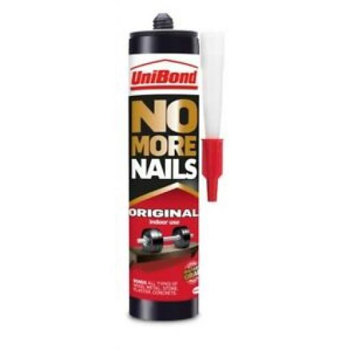 Unibond No More Nails Original Indoor Use Strong Instant Grab Cartridge 365G