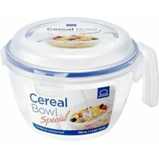 Lock and & Lock Food Container Cereal Bowl 950ml HPL973