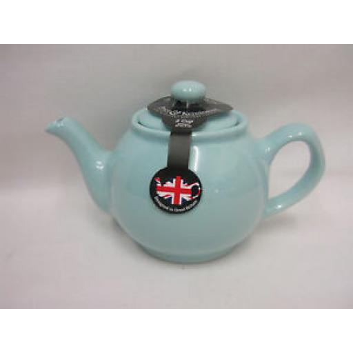 Price And Kensington Small Pot Teapot 2 Cup 0056.776 Pastel Blue