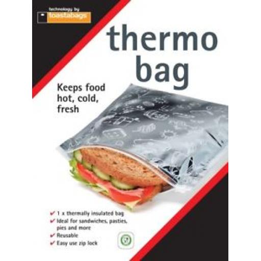 Toastabag Thermo Bag Keeps Food Hot Cold Fresh Thermally Insulated