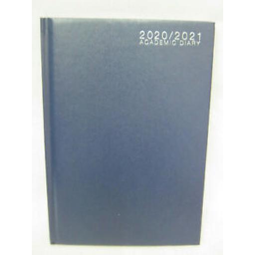 Tallon Mid Year Academic Diary A5 2020/21 Hard Back Blue