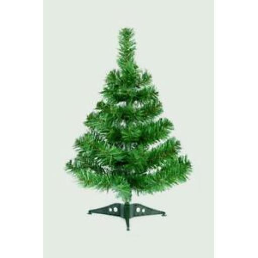 Premier Foldable Green Mini Christmas Tree Table Top 45cm FSTR139617
