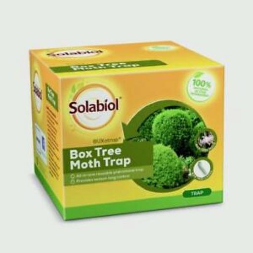 Solabio Buxatrap Box Tree All In One Pheromone Moth Trap Season Long Control