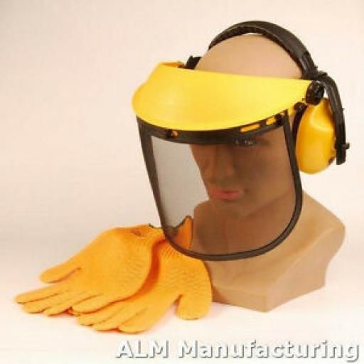 Alm Trimmer Safety Face Guard Ear Defenders Safety CH012