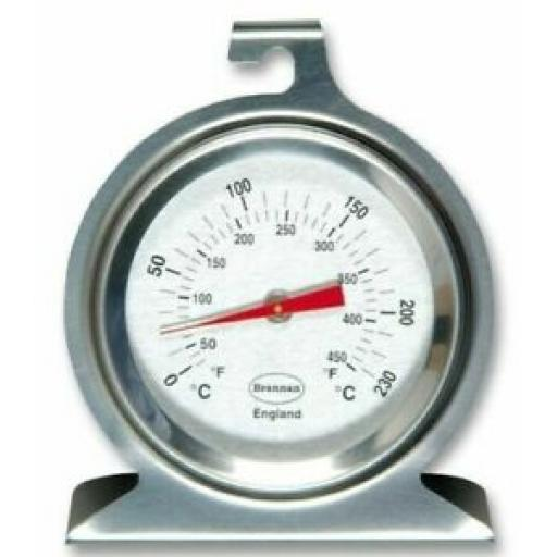 Brannan Oven Thermometer Temperature Gauge Stainless Steel 23/400/3