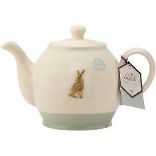 The English Tableware Company Edale Hare Teapot Tea Pot 1.25L DD4312A02