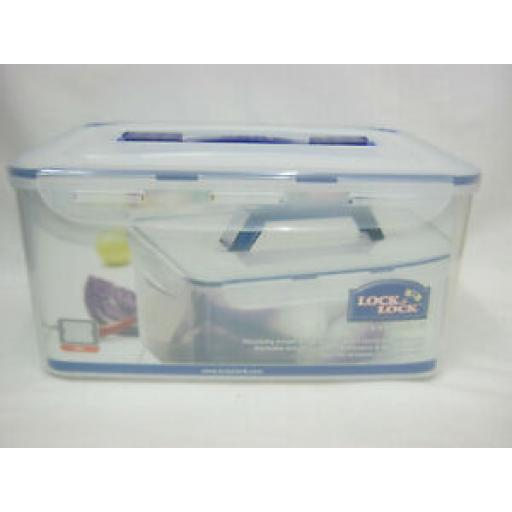 Lock And & Lock 8 L Plastic Food Container HPL884