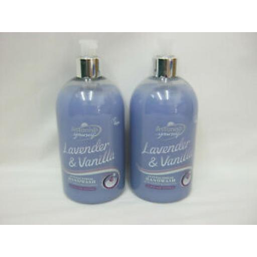 Astonish Lavender And Vanilla Antibacterial Handwash Liquid Soap Pk2