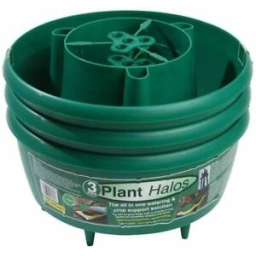 Garland Plant Halos Green Pack 3 Plant Support G167G