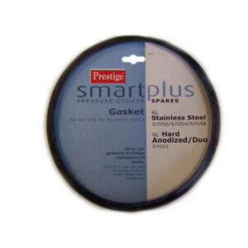 Prestige Stainless Steel Pressure Cooker Gasket Smartplus 57071 6L