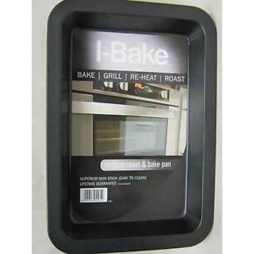 I-Bake Medium Roast Roasting Bake Grill Pan Tray 5584
