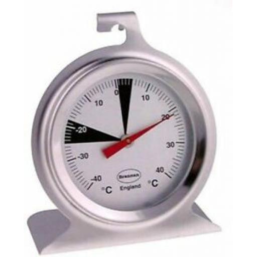 Brannan Fridge Freezer Thermometer Temperature Gauge Round Metal 22/402