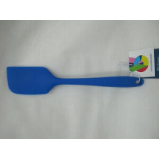 Kitchen Craft Colourworks Silicone Mini 20CM Bowl Scraper Spatula Blue