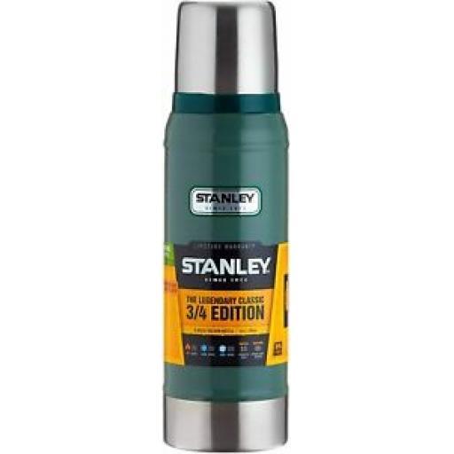 Stanley Classic Vacuum Bottle Stainless Steel Flask Jar 473ml Green