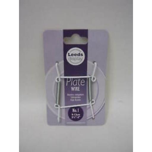 """Plate Hanger Plastic Coated Wire Plate Size 3.5"""" To 5"""" PW10WL"""