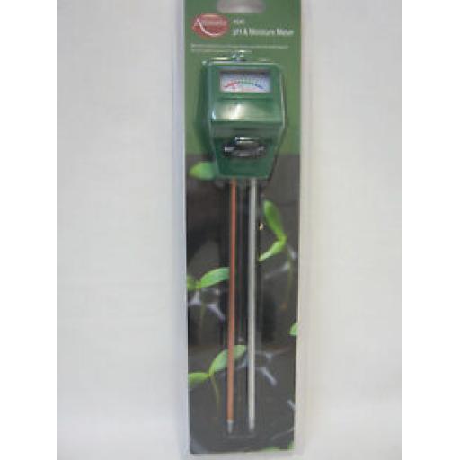 Ambassador Measure pH And Moisture Meter Tester Light Levels AS45