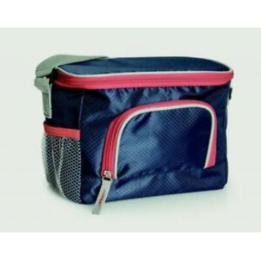 Zento Elite Insulated Cooler Cool Bag 6 Can 3.5 Litre Navy 13302