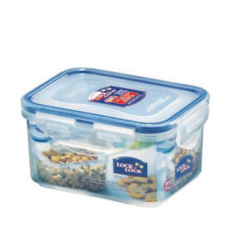 Lock and & Lock Rectangular 470ml Food Container HPL807