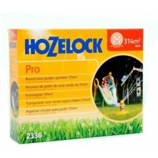 Hozelock Pro Round Water Garden Sprinkler 314m2 2336