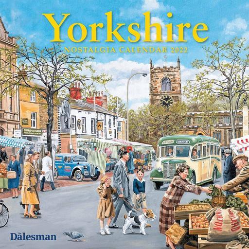 Dalesman Calendar Square Month To View 2022 Yorkshire Nostalgia