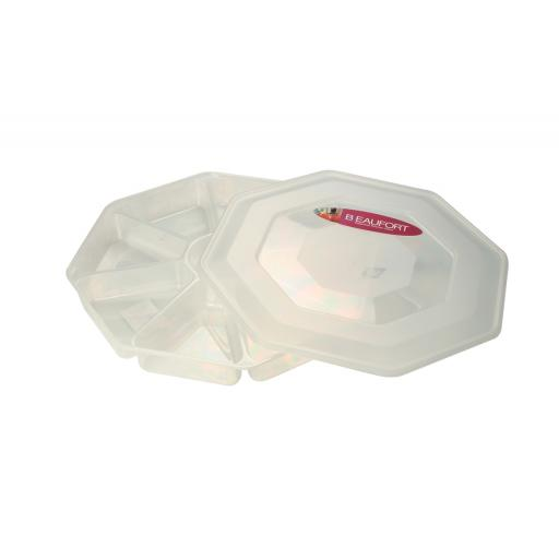 Beaufort Nibble Tray 8 Section 030179012