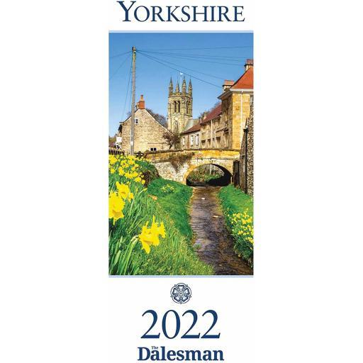 Dalesman Yorkshire 2022 Slim Calendar Month To View