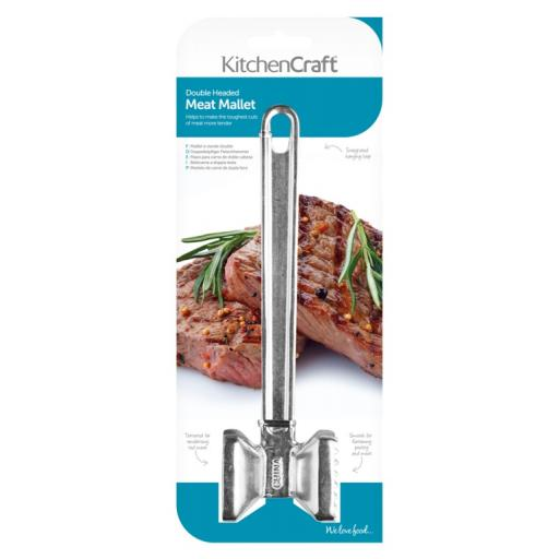 Kitchencraft Double Headed Meat Mallet KCMEAT